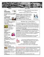 Clé de Saint GEORGES de février 2015