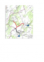 Carte sentier pédagogique de Montclaret